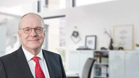 Foto zeigt Prof. Manfred Curbach