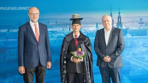 Erfolgreiche Verteidigung im Promotionsverfahren von Dipl.-Ing. Michael Frenzel
