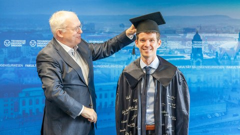Erfolgreiche Verteidigung der Promotion von Dipl.-Ing. Egbert Müller