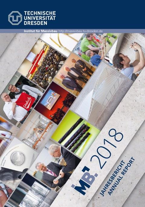 Foto zeigt das Deckblatt zum Jahresbericht 2018