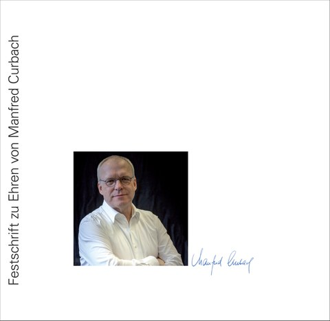 Picture shows the cover of the commemorative publication 60th birthday Manfred Curbach