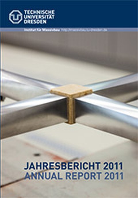 Picture shows the cover page of the annual report 2011