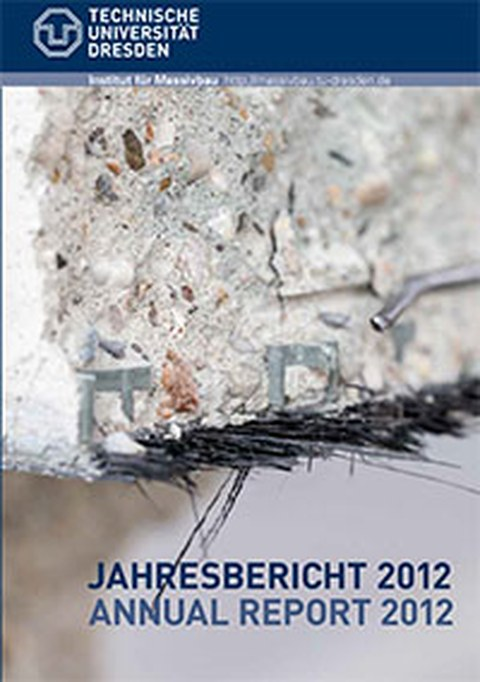 Picture shows the cover page of the annual report 2012