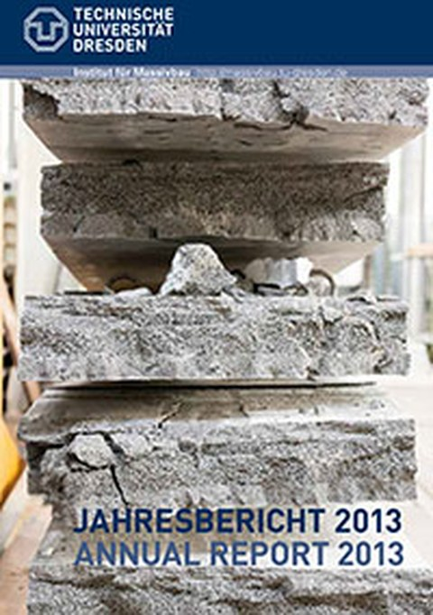 Picture shows the cover page of the annual report 2013