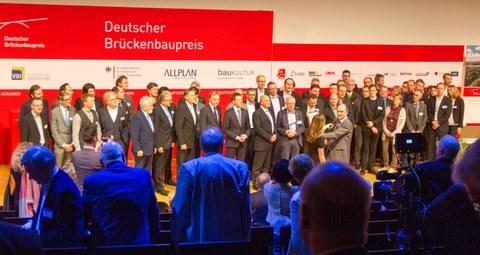 Verleihung des 7. Deutschen Brückenbaupreises 2018