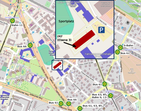 map and directions for August-Bebel-Straße 30