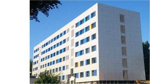View to August-Bebel-Straße 30