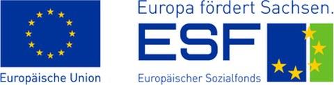 ESF-EU-Logo Sachsen