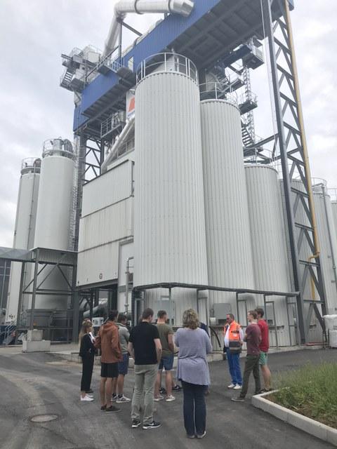 Asphaltmischanlage in Heilbronn