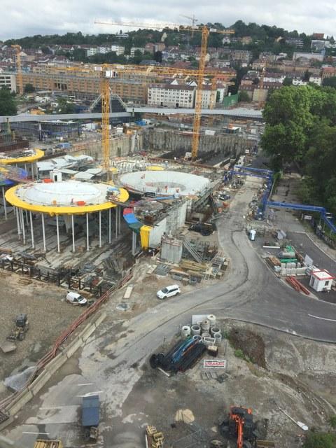 Baustelle Stuttgart-21
