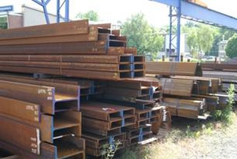Profilstahllager Stahlbau Plauen