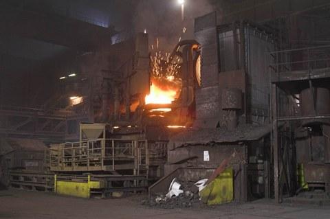 Elektrolichtbogenofen ArcelorMittal Luxemburg