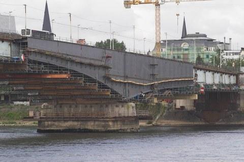 Ansicht Kennedeybrücke in Bonn