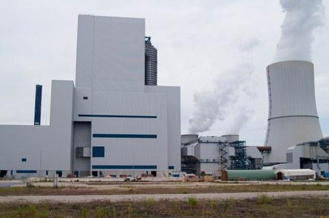 Ansicht des Kraftwerkes Boxberg