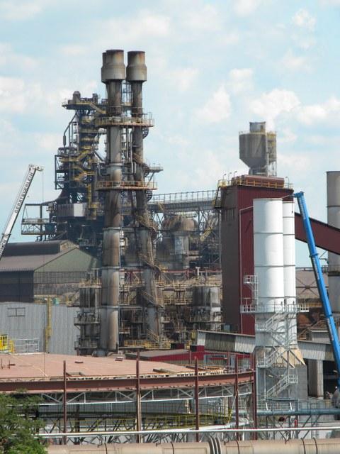 Stahlwerk voestalpine AG in Linz