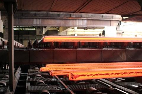 Stahlknüppel als Vorprodukt für Walzdraht