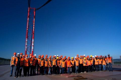 Gruppenbild der Exkursion 2015