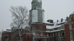 Beyer-Bau im Winter