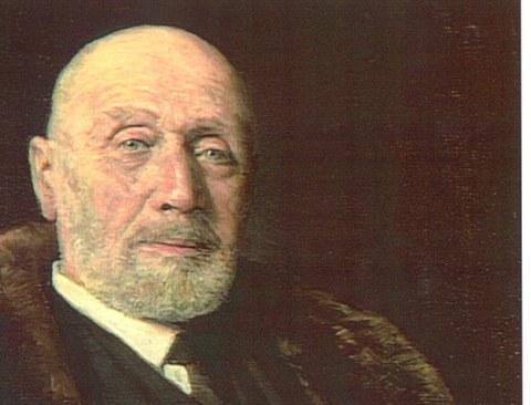Gemälde von Prof. Hubert Heinrich Engels