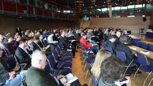 Auditorium des Dresdner Wasserbaukolloquiums 2015