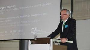 Eröffnung des Dresdner Wasserbaukolloquiums 2014