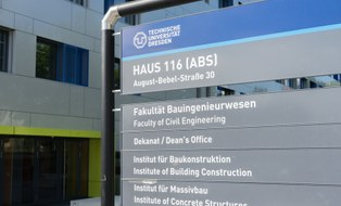Dekanat Fakultät Bauingenieurwesen Außenansicht
