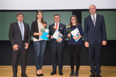 Tag der Fakultät Bauingenieurwesen, Verleihung Dreßler Baupreis