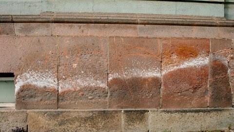 Mauerwerk Geologie