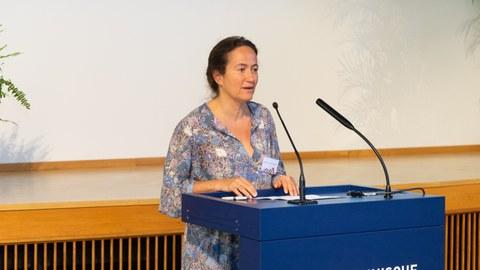 Direktorin für internationale Beziehungen der (ESTP), Mme. SC. Huismann