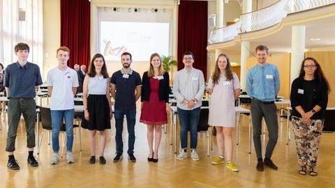 Absolventinnen und Absolventen des Doppeldiplomprogramms