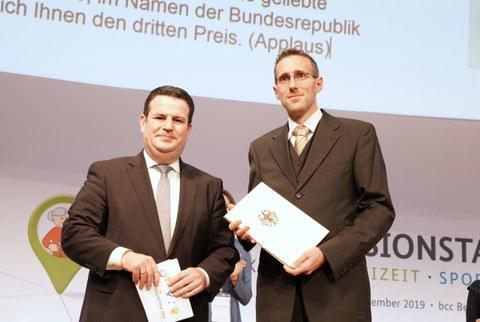 Professor Uwe Reuter erhält den Bundesteilhabepreis