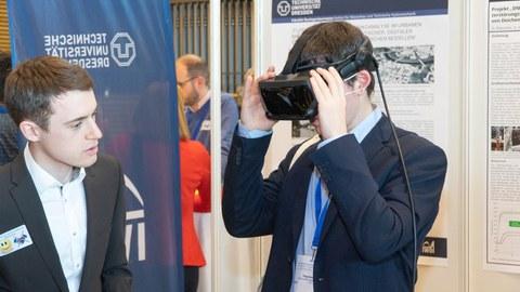 WBK2020 VR Brille am Uni-Stand