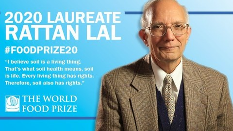 Prof. Lal World Food Prize