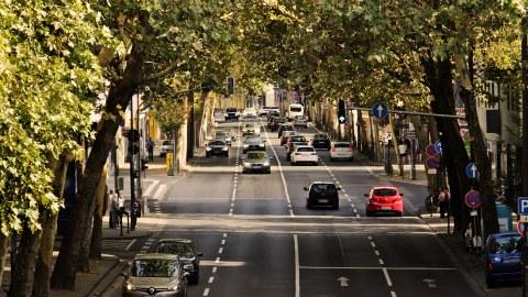Stadtverkehr Straße