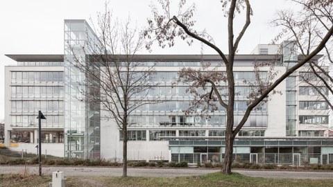 Das Gebäude der Fakultät