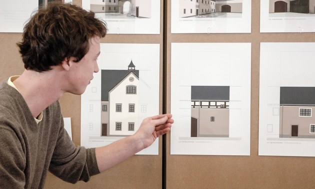 Diplomstudiengang architektur fakult t architektur tu for Architekturstudium teilzeit