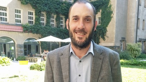 Gast aus Südafrika im Programm Dresden Fellowship