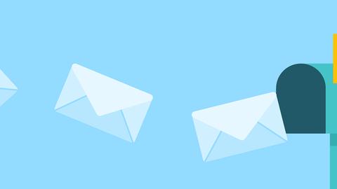Briefkasten, Briefumschläge, Post