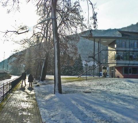 Judeichbau im Winter