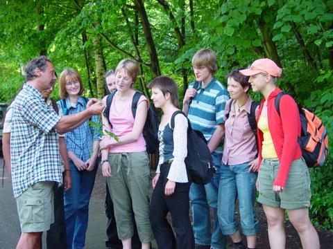 Exkursion Forstbotanik