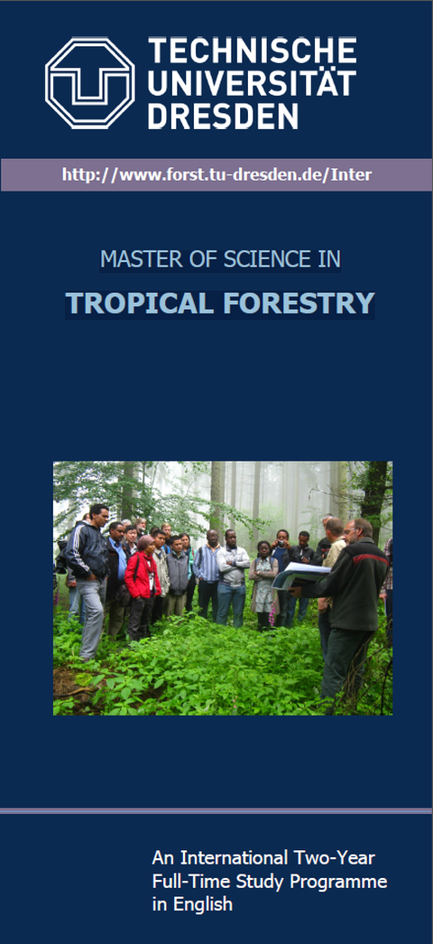 Flyer Master Tropical Forestry and Management