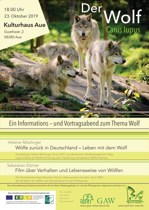 ÖJV Plakat Wolf 2019