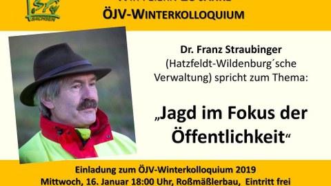 Winterkolloquium 2019