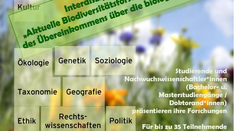 Einladung Tagung Biodiversität