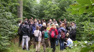 Waldbauübung im Tharandter Wald (B33)