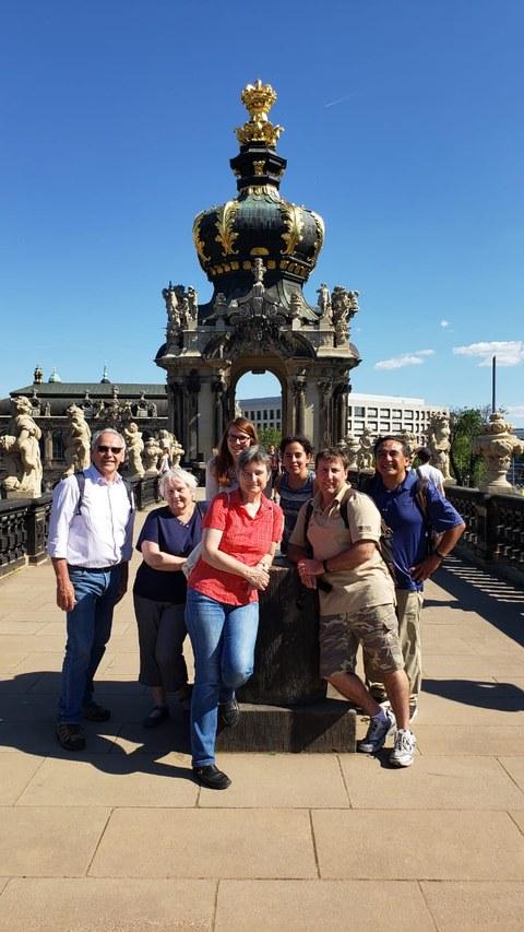 Visiting the Dresdner Zwinger