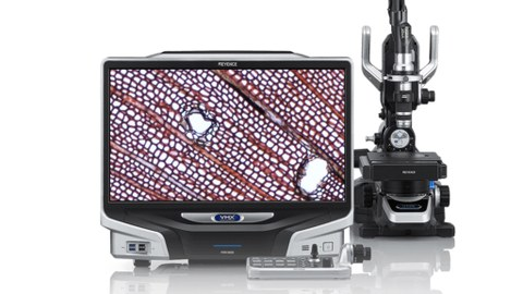 Keyence digital microscope