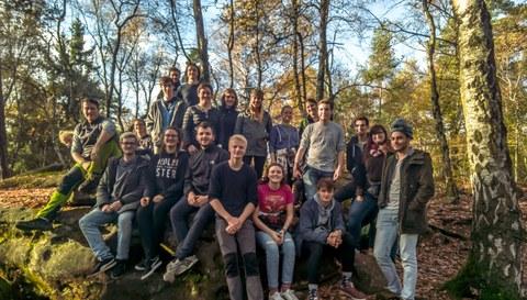Gruppenbild der Teilnehmer des ESE-Wochenendes 2017