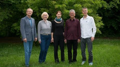 Gruppenfoto der Angehörigen der Professur Mitteleuropa