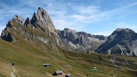 Alpenpanorama in Südtirol